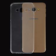 TPU caz transparent ultra-subțire magie spider® cu ecran protector pentru Samsung Galaxy A3 / A5 / A7 / A8
