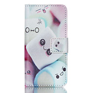 Cotton Candy PU Leather Full Body Case with Screen Protector And Stand for iPod Touch 5