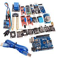 20 in 1 corredo del modulo di sensore e la versione migliorata ONU R3 modulo bordo ATmega328P per arduino
