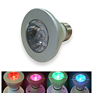1 pcs GMY E27 3 W 1 High Power LED ≥50 LM RGB G Dimmable/Remote-Controlled AC 100-240 V
