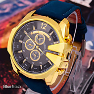 Men's Watches Fashion Leisure Sports Super V6 Cool Large Dial Belt Watch Wrist Watch Cool Watch Unique Watch