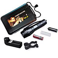 Torce LED/Luci bici/Torce - LED -Campeggio/Escursionismo/Speleologia/Uso quotidiano/Ciclismo/Caccia/Pesca/Viaggi/Luci