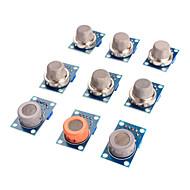 Gassensor mq-2 mq-3 mq-4 mq-5 mq-6 mq-7 mq-8 mq-9 mq-135-Sensor-Kit-Modul für Arduino