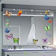 multifunzione farfalla forma pvc adesivi decorativi (9pcs / set) (colore casuale)