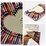 ceruza szerelem minta puha kalapács tok iPad mini 3, iPad mini 2, ipad mini