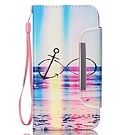 Mert Samsung Galaxy Note Kártyatartó / Pénztárca / Állvánnyal / Flip Case Teljes védelem Case Látvány Műbőr Samsung Note 3