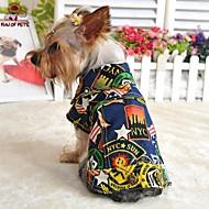 개 데님 자켓 블루 강아지 의류 겨울 / 모든계절/가을 청바지 패션