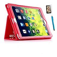 pu casi busta in pelle casi Folio per iPad mini / 03/02 sottile guscio + screensaver + touch pen gratuito (colori assortiti)