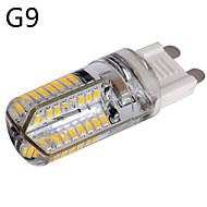 1 pcs E14 / G9 / G4 6 W 64 SMD 3014 540 LM Warm White / Cool White LED Corn Bulbs AC 100-240 V