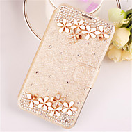 PU Leather Pure Manual Set Auger Full Body Cases For Galaxy S6 Edge/S6/S5/S5 mini/S4/S4 mini/S3(Assorted Color)