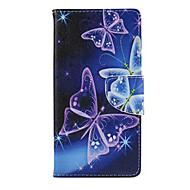 Na Samsung Galaxy Etui Etui na karty / Portfel / Z podpórką / Flip Kılıf Futerał Kılıf Motyl Skóra PU Samsung J5 / J1 / Grand / Core