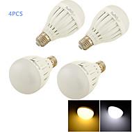 Lampadine globo 14 SMD 5730 YouOKLight C35 E26/E27 7 W Decorativo 550 LM Bianco caldo / Luce fredda 4 pezzi AC 85-265 V