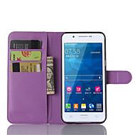 Varten Samsung Galaxy kotelo Korttikotelo / Tuella / Flip / Magneetti Etui Kokonaan peittävä Etui Yksivärinen Tekonahka SamsungA8 / A7 /