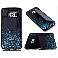 PU Leather Silicone Wallet Cases with Stand Back Cover for Samsung Galaxy S3/S4/S4 mini/S5/S5 mini/S6/S6 edge