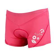 KINGBIKE® Wielrenondershorts Dames Ademend / Sneldrogend / 3D Pad / Vermindert schuren FietsenShort/Broekje / Ondergoed Shorts/Ondershort