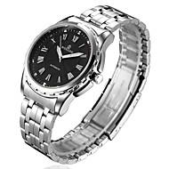 Gepersonaliseerde Gift - voor Heren - Analoog - Horloge - met Staal - Band