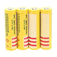 BRC 5000mAh akumulator 18650 (4szt) + 4 szt / dużo twardego plastiku schowek baterii do 18650 baterii