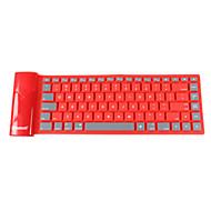 Bluetooth teclado capacitivo Mini Dobrável Para Windows 2000/XP/Vista/7/Mac OS Android OS iOS iPad 4 iPad mini iPad mini 2 iPad mini 3
