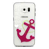 For Samsung Galaxy etui Mønster Etui Bagcover Etui Anker TPU for Samsung S6 edge plus S6 edge S6 S5 Mini S5