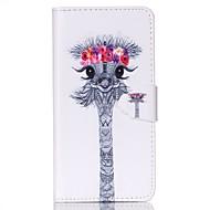 For Samsung Galaxy etui Pung Kortholder Med stativ Flip Etui Heldækkende Etui Dyr Kunstlæder for SamsungS6 S5 Mini S5 S4 Mini S4 S3 Mini