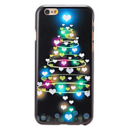 Voor iPhone 6 hoesje / iPhone 6 Plus hoesje Patroon hoesje Achterkantje hoesje Kerstmis Hard PC iPhone 6s Plus/6 Plus / iPhone 6s/6