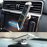 Universal 360 Degree Rotation Mini  Magnetic Car Mount Dashboard Holder Stand for iPhone and Others(Assorted Colors)