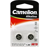 Camelion tamaño de pila de botón alcalinas AG10 (2pcs)