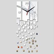 Vierkant Modern/Hedendaags Wandklok , Familie Anderen 25.58*10.24