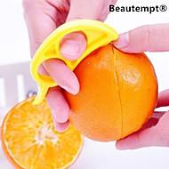 pelado pelador de naranja por menor de corte de naranja diestro fruto (color al azar)