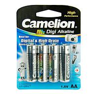 Camelion digi alkaliczne rozmiaru baterie galwaniczne aa (4szt)