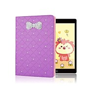 Hot Selling Sparkling Rhinestone Bowknot Flip Skin Shell for iPad 2/3/4(Assorted Colors)