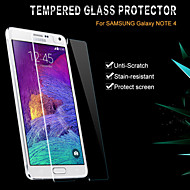 Glass Film Clear Front Screen Protector with Package for Samsung Galaxy Note 4