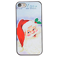Christmas Style Santa New Year Pattern PC Hard Back Cover for iPhone 5/5S