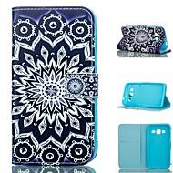 Για Samsung Galaxy Θήκη Θήκη καρτών / Πορτοφόλι / με βάση στήριξης / Ανοιγόμενη tok Πλήρης κάλυψη tok Μάνταλα Συνθετικό δέρμα Samsung