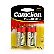Camelion Plus Alkaline Primary Batteries Size C (2pcs)
