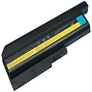 9-cellers batteri for IBM Lenovo ThinkPad T60 t60p SL300 SL400 SL500 R500 T500 W500 r60 r60e r60i R61 r61e t61i T61