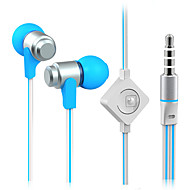 High Quality Stereo Headset In Ear Metal Earphone handsfree Headphones with Mic 3.5mm Earbuds for Samsung S4/S5