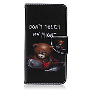 For Samsung Galaxy Note Wallet / Card Holder / with Stand / Flip Case Full Body Case Cartoon PU Leather Samsung Note 5 / Note 4 / Note 3