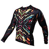 PALADIN Moto/Ciclismo Camisa / Blusas Homens Manga CompridaRespirável / Resistente Raios Ultravioleta / Secagem Rápida / Compressão /