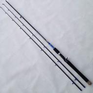 Caña de pescar Caña de casting Hilo de acero / Aluminio / Carbón / EVA 2.1 M Pesca de baitcasting / Pesca de agua dulce / Pesca en General
