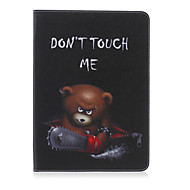 Chainsaw Bear Painted Bracket Tablet PU Case for Galaxy Tab S 10.5 T800/  E 9.6 T560/ A 9.7 T550/ 4 10.1 T530/S2 9.7