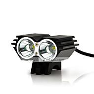 Pyöräilyvalot turvavalot LED Cree XM-L U2 Pyöräily Vedenkestävä ladattava Iskunkestävä Helppo kantaa 18650 AAA 5000 Lumenia Patteri