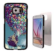 caixa personalizada - balão caso design de metal para Samsung Galaxy S6 / S6 edge / nota 5 / a8 e outros