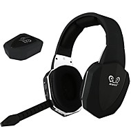 HG398 2.4G Digital Wireless Video Games Headset Over Ear Detachable Mic For TV Wii PC MAC PS3 PS4 Xbox 360 Xbox one