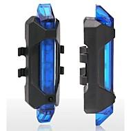 Luce posteriore per bici / luci di sicurezza - Ciclismo Impermeabili / Facile da portare / Avvertenze Altro 15 Lumens USB Rosso Ciclismo