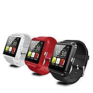 Tecnologia Vestível - Relógio inteligente Bluetooth 3.0 - Chamadas com Mão Livre / Controle de Mensagens / Controle de Câmera -Monitor de