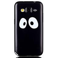 Mert Samsung Galaxy tok Minta Case Hátlap Case Alb negru TPU Samsung Grand Prime / Grand Neo / Core Prime