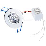 3W Φωτιστικό Πάνελ 1 LED Υψηλης Ισχύος 100-450 lm RGB Τηλεχειριζόμενο AC 85-265 V 1 τμχ