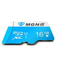 mgn original de la clase 10 16gb micro sdhc sd tf tarjeta de memoria flash de alta velocidad verdadera