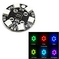5050 RGB LED-modul 12v 7 farge kan være farge LED-modul dekorative lys for smart bil robot og mult-aksen aircarft